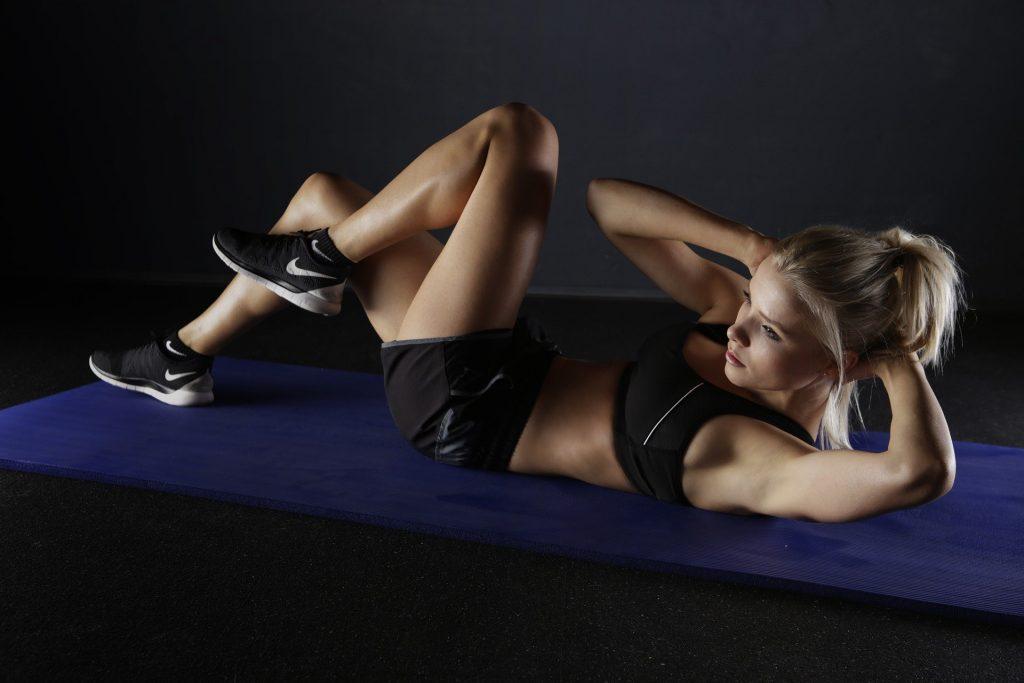 sport plâtre abdos
